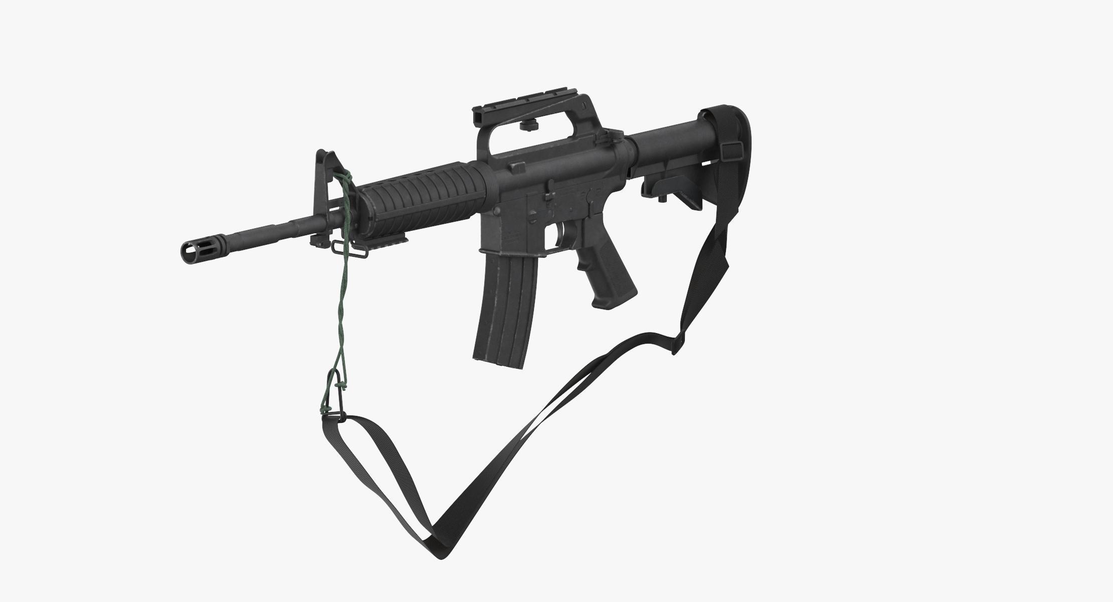 M16 Rifle - M16A2 - reel 1