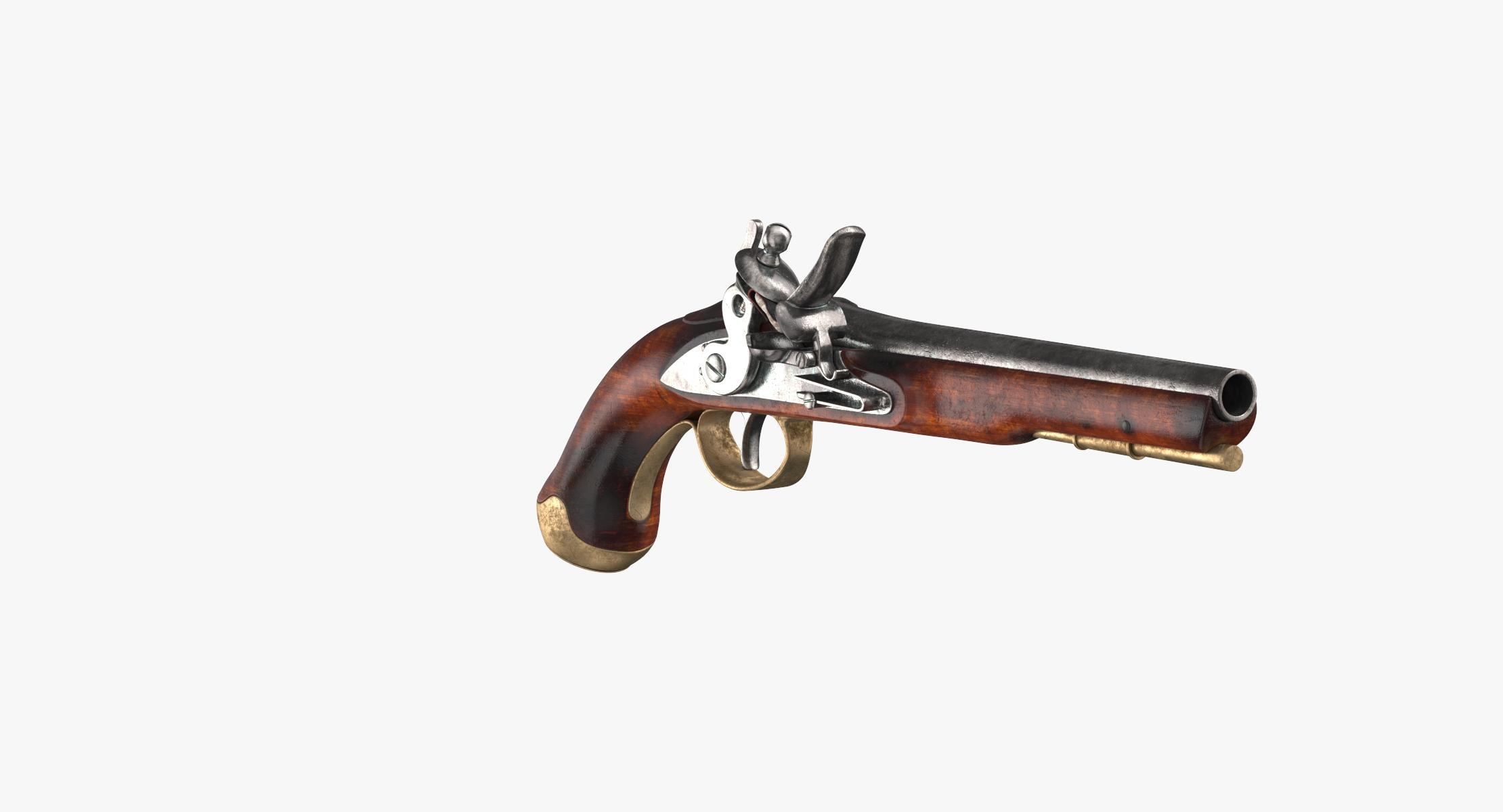 Revolutionary War Gun Blunderbuss - reel 1