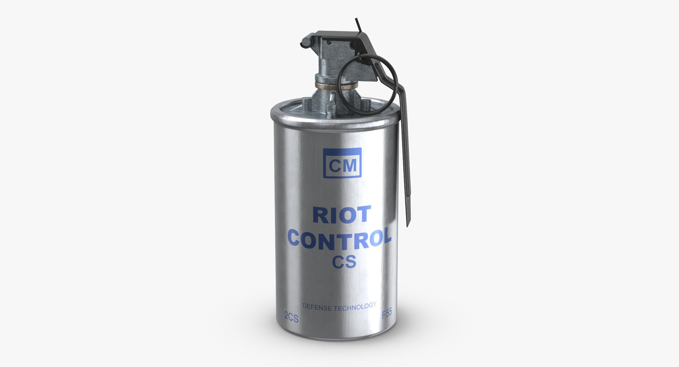 Tear Gas Canister 02 - reel 1