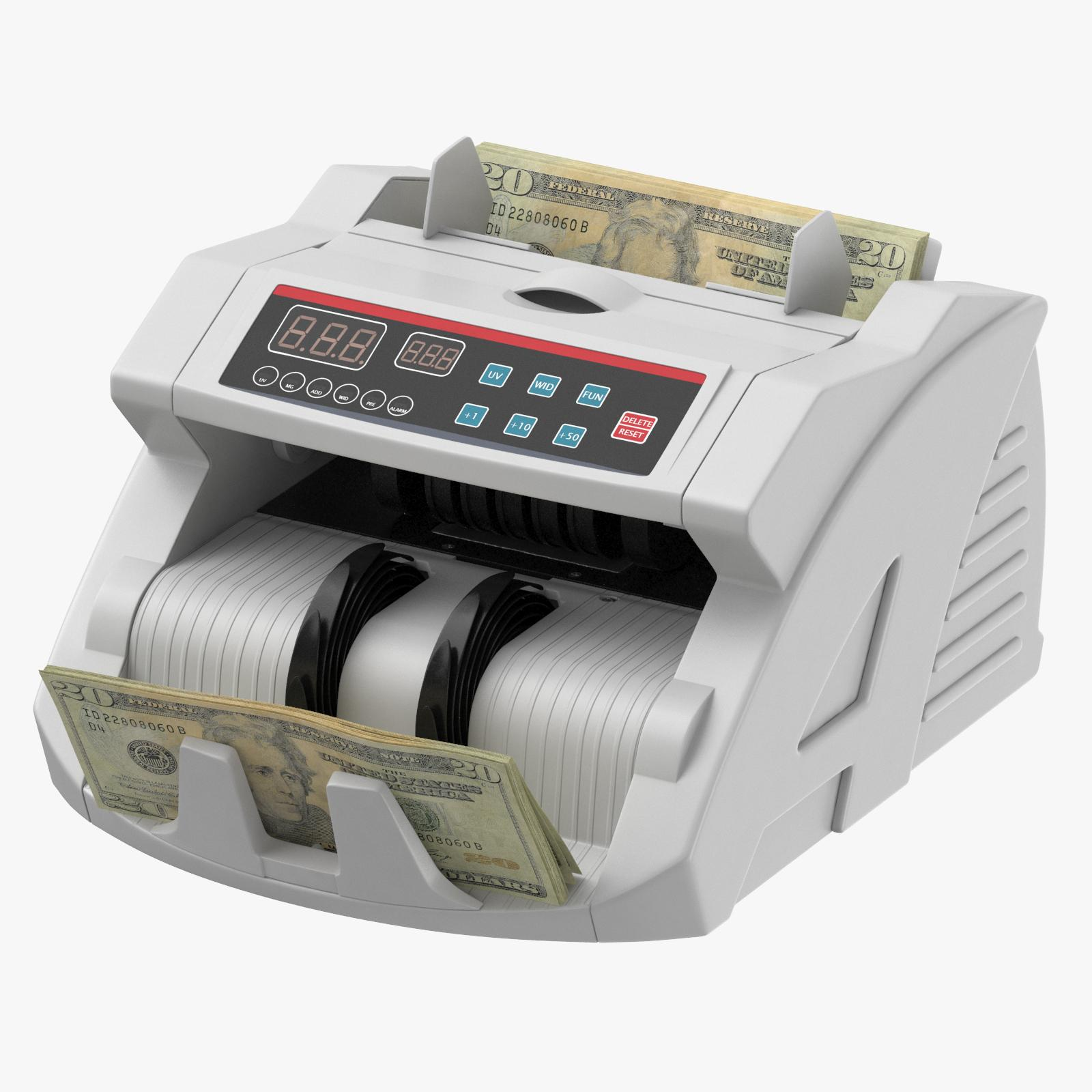 Money Counter With Bills