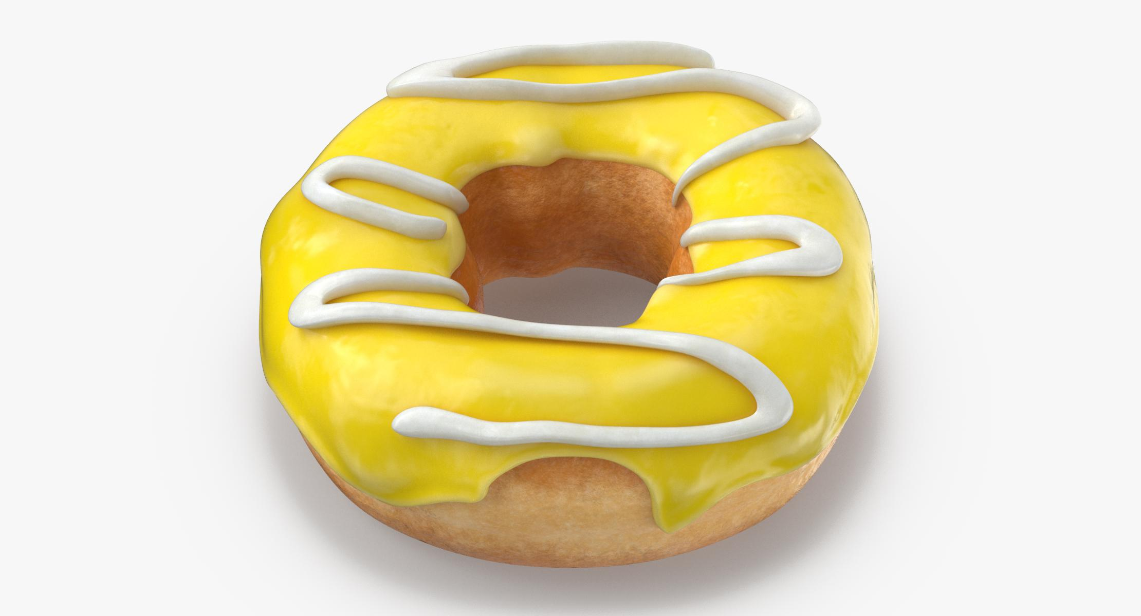 Donut 05 - Yellow - reel 1