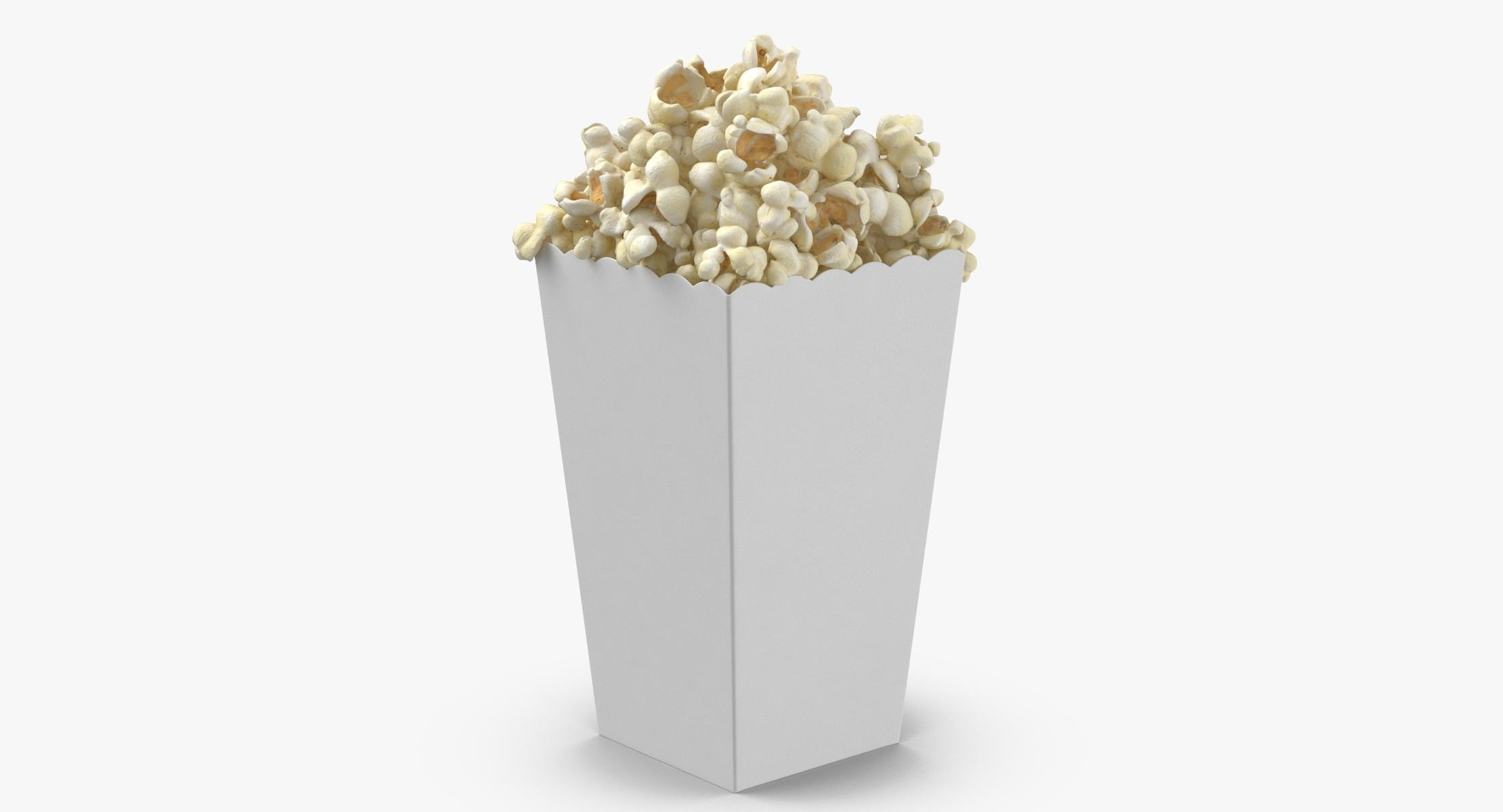 Movie Popcorn - Box Standing - reel 1