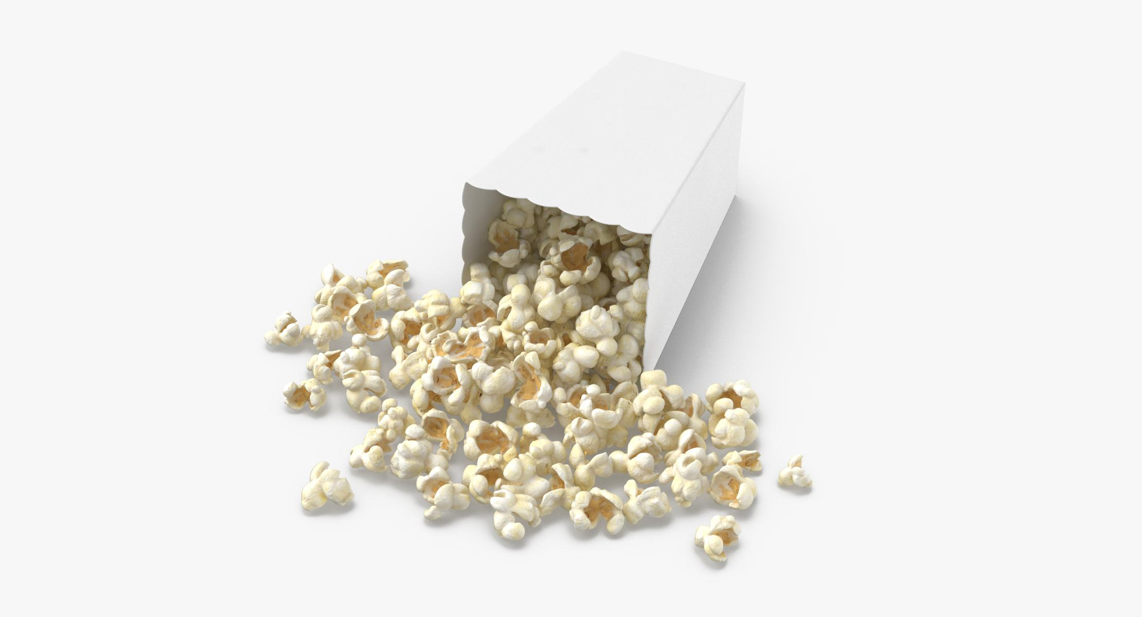 Movie Popcorn - Box Tipped - reel 1