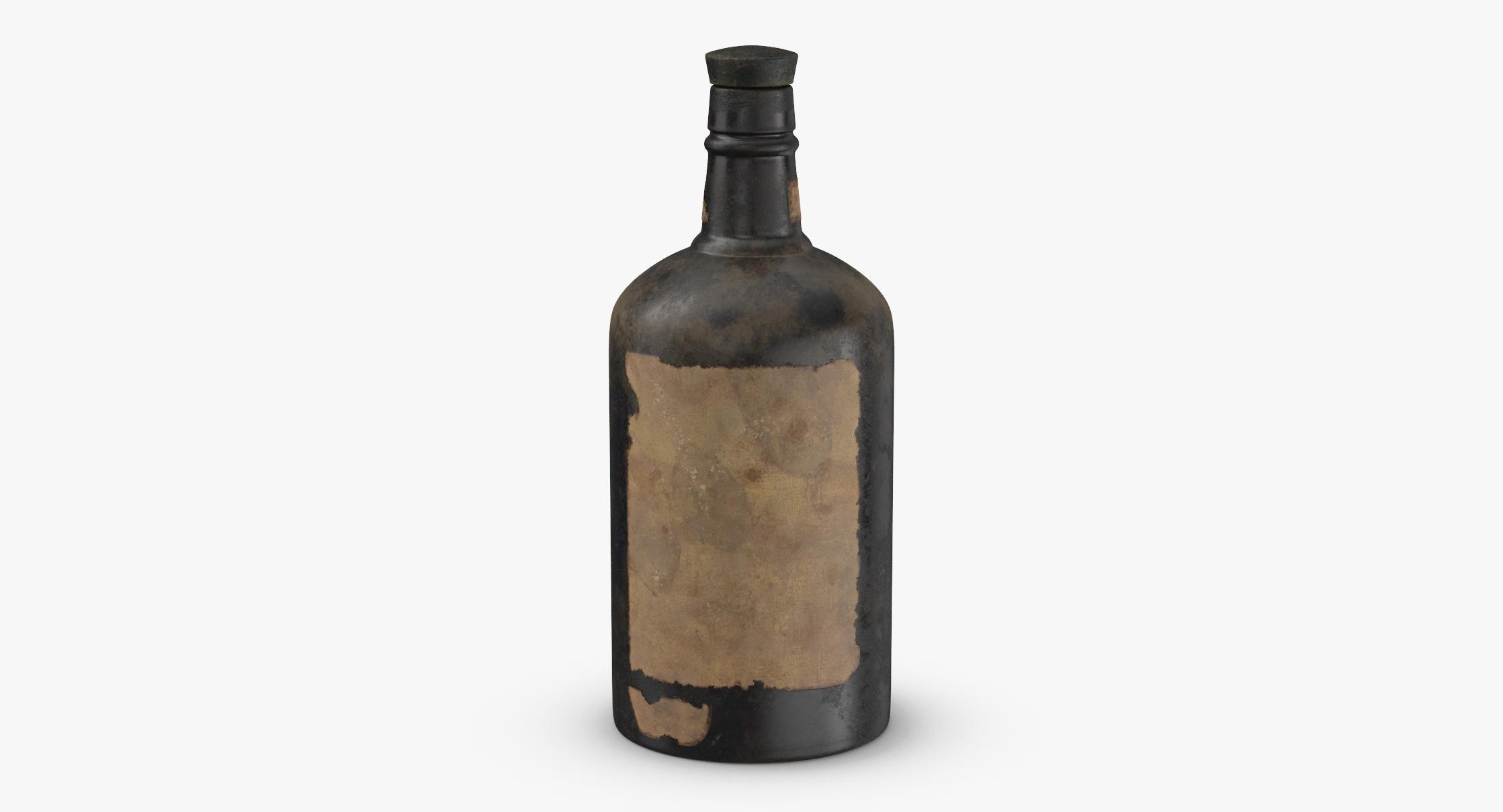 Old Bottle of Alcohol 04 - reel 1