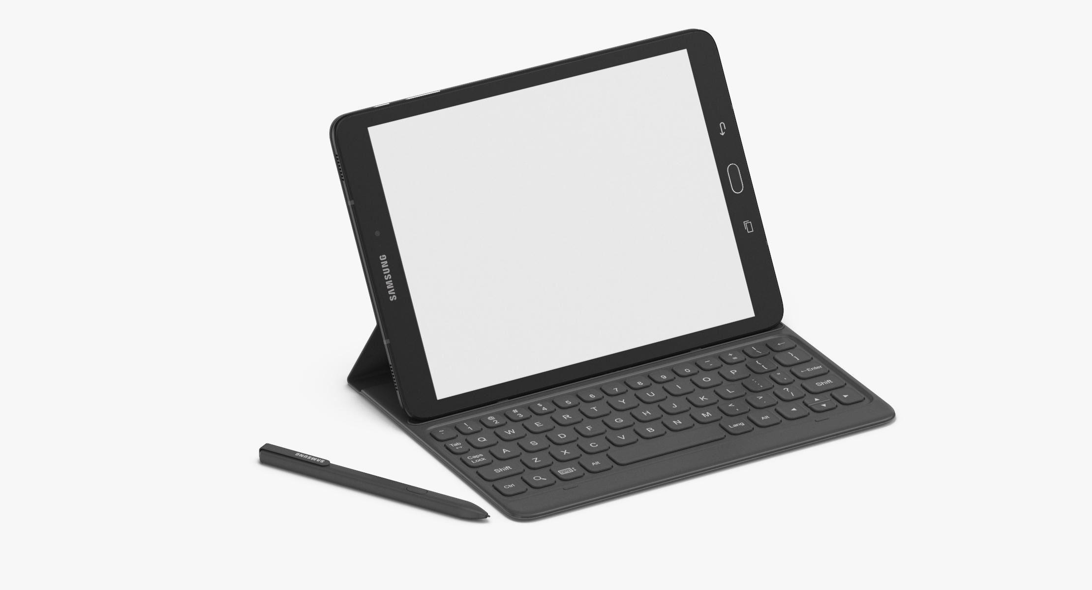 Samsung Galaxy Tab S3 With Keyboard & Stylus - reel 1