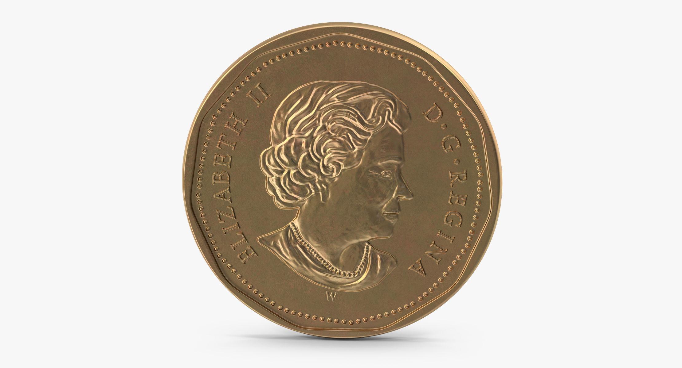 1 Dollar Coin Canada (Loonie) - reel 1