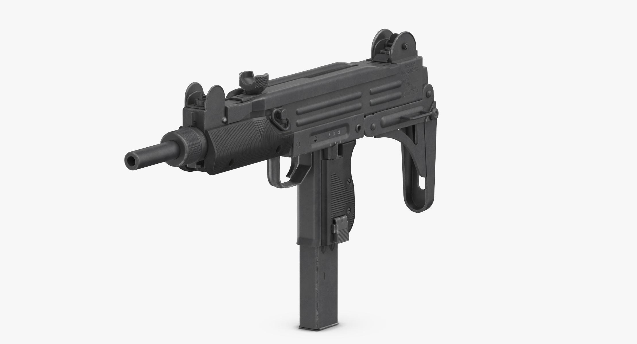 Submachine Gun UZI SMG - reel 1