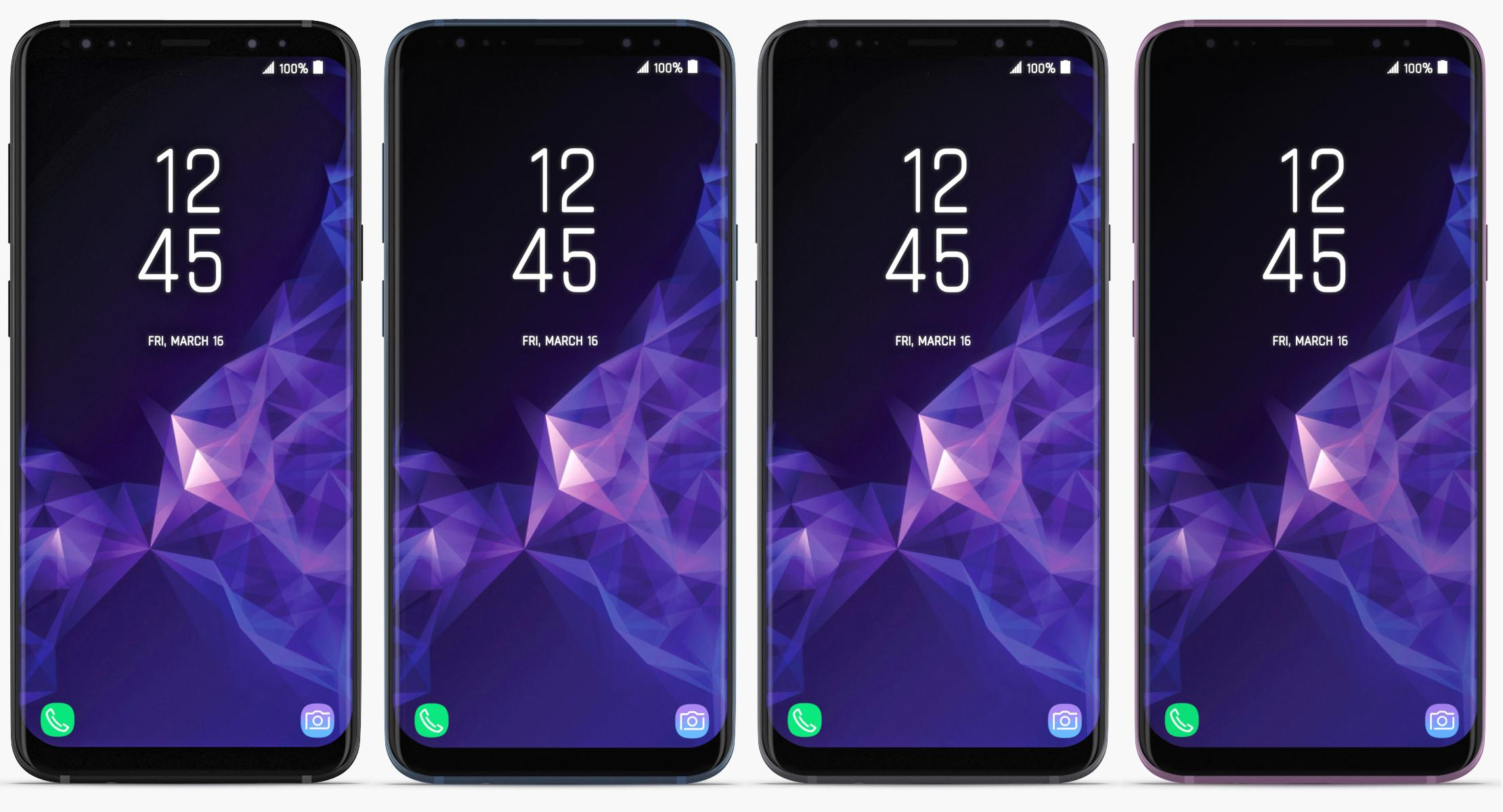 Samsung Galaxy S9 & S9+ (ALL COLORS) - reel 1