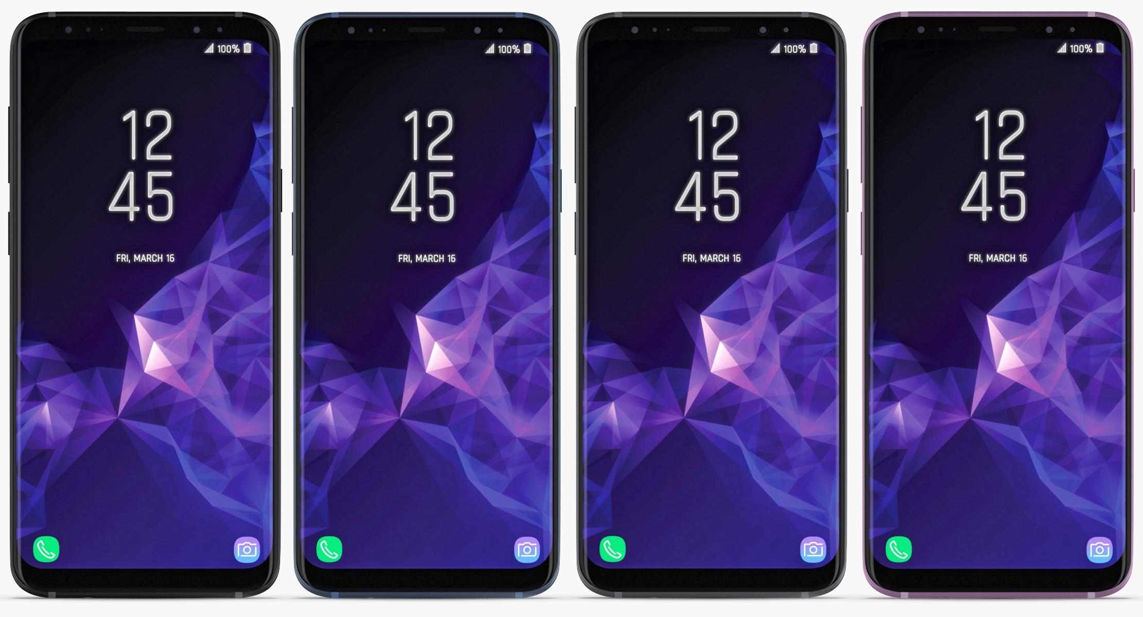 Samsung Galaxy S9 & S9+ (ALL COLORS) - reel 2