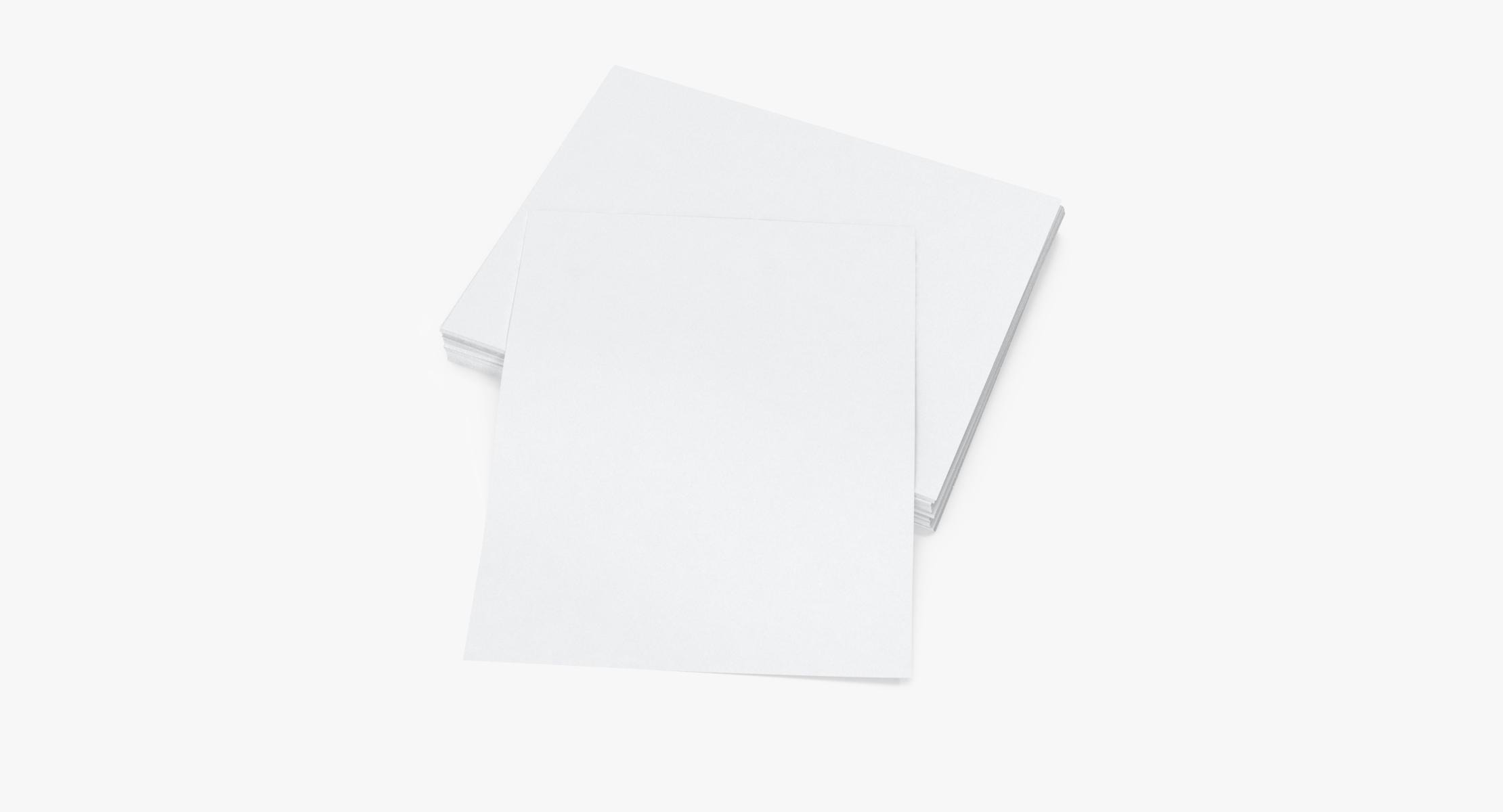 Small Stack of Paper Sheets 03 - reel 1
