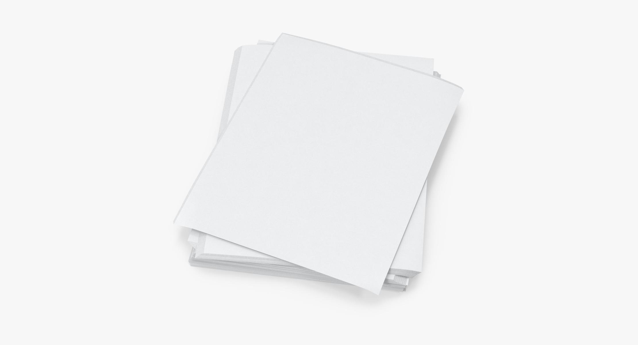Small Stack of Paper Sheets 02 - reel 1