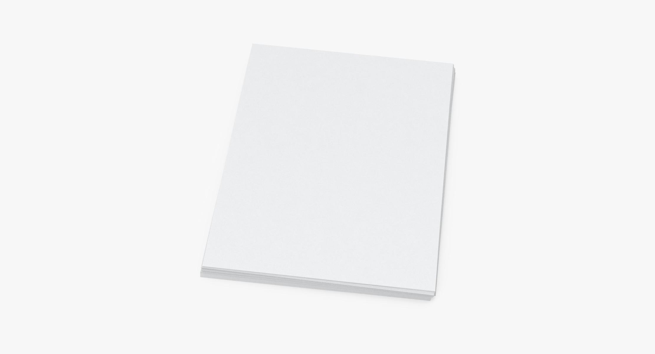 Small Stack of Paper Sheets 01 - reel 1