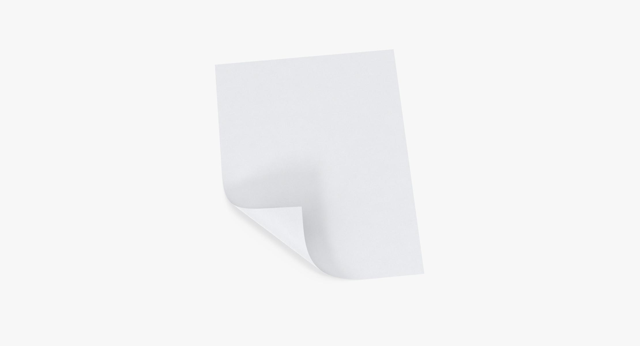 Single Paper Sheet 04 - reel 1