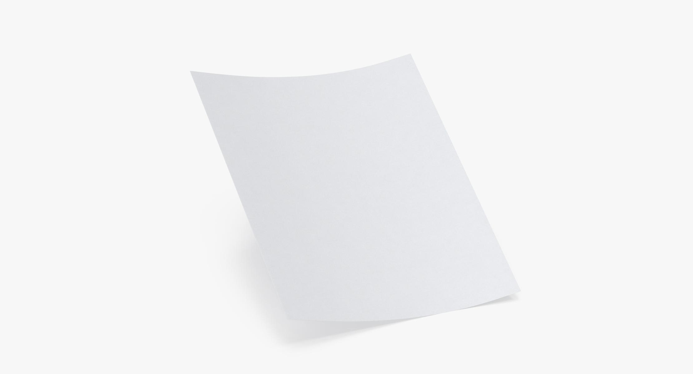Single Paper Sheet 02 - reel 1