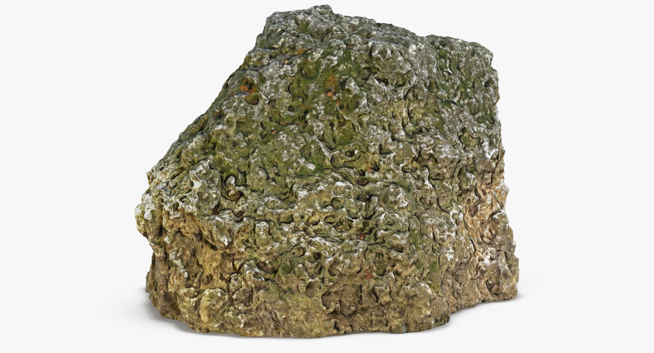 3D model Rock 01 - reel 1