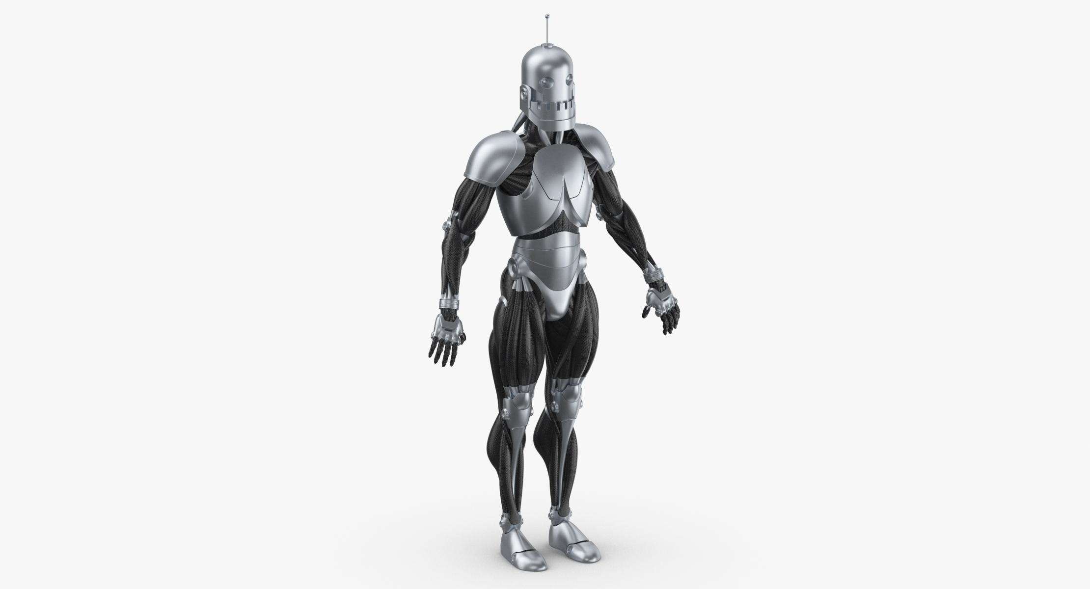 Robot 02 3D model - reel 1