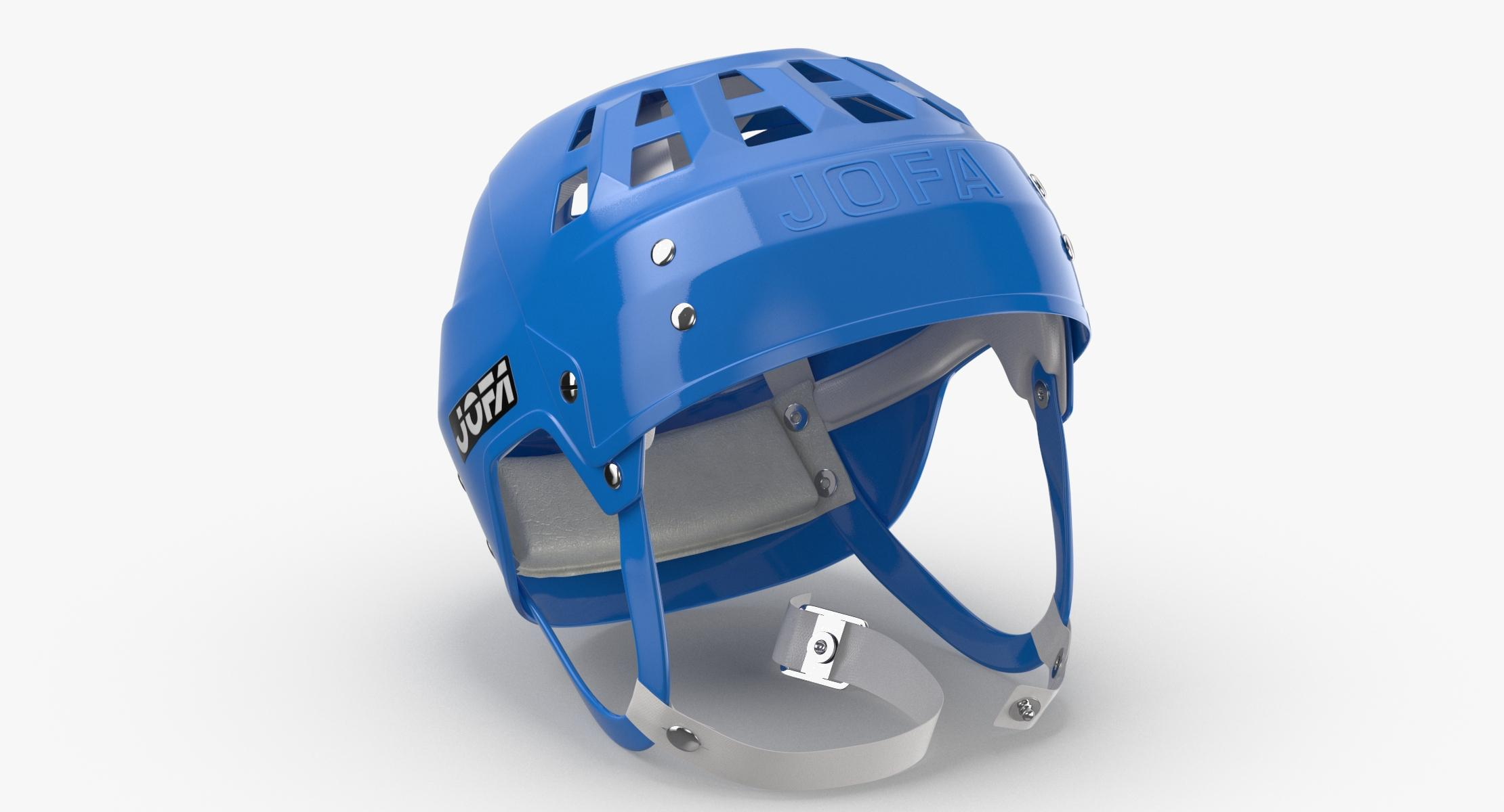JOFA Ice Hockey Helmet Laying 3D - reel 1
