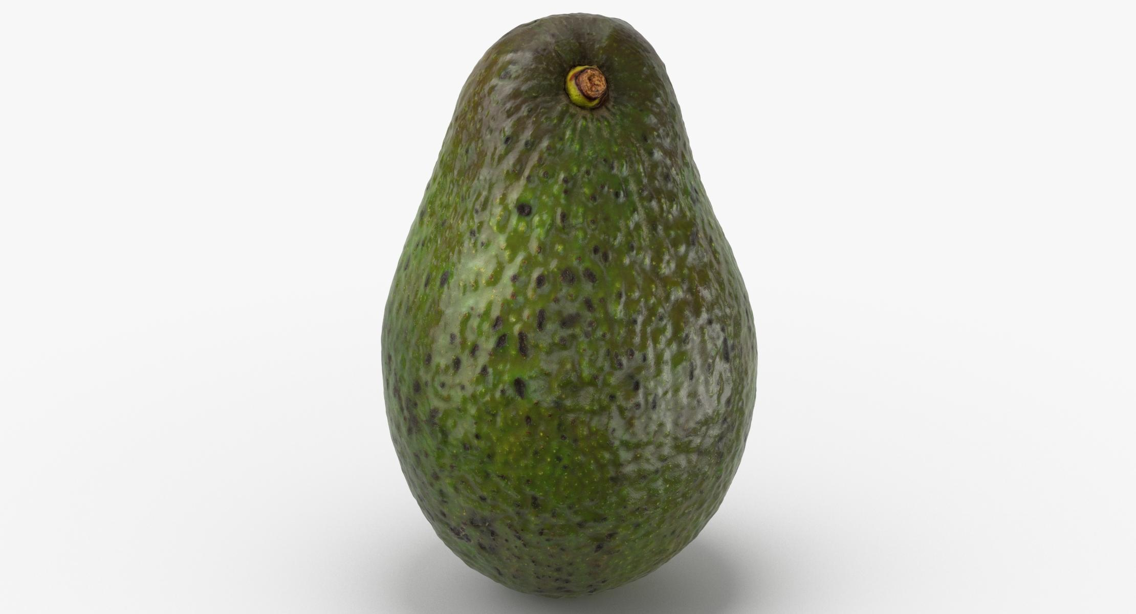 Avocado Hass 01 3D model - reel 1