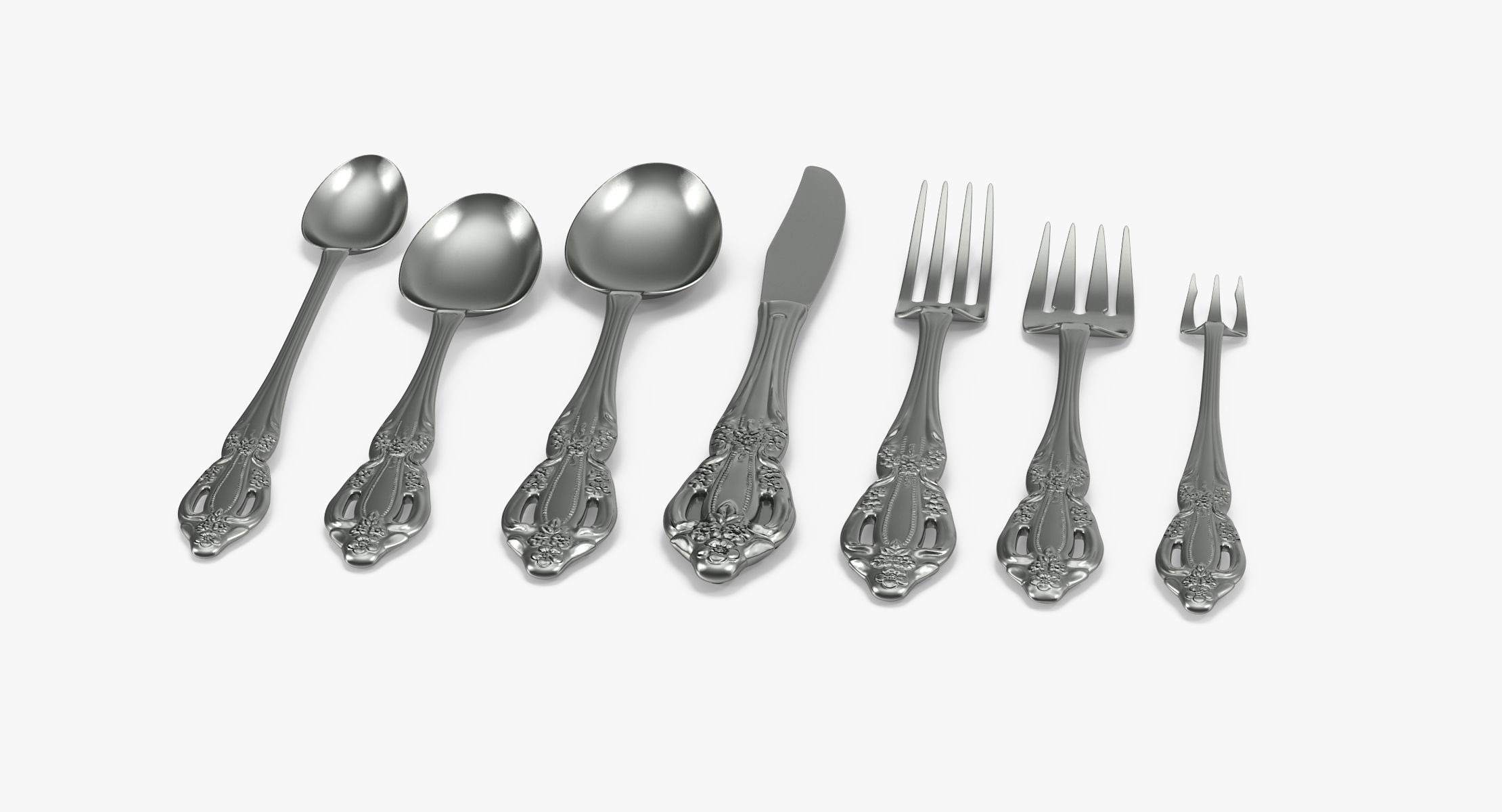 Formal Silverware - reel 1