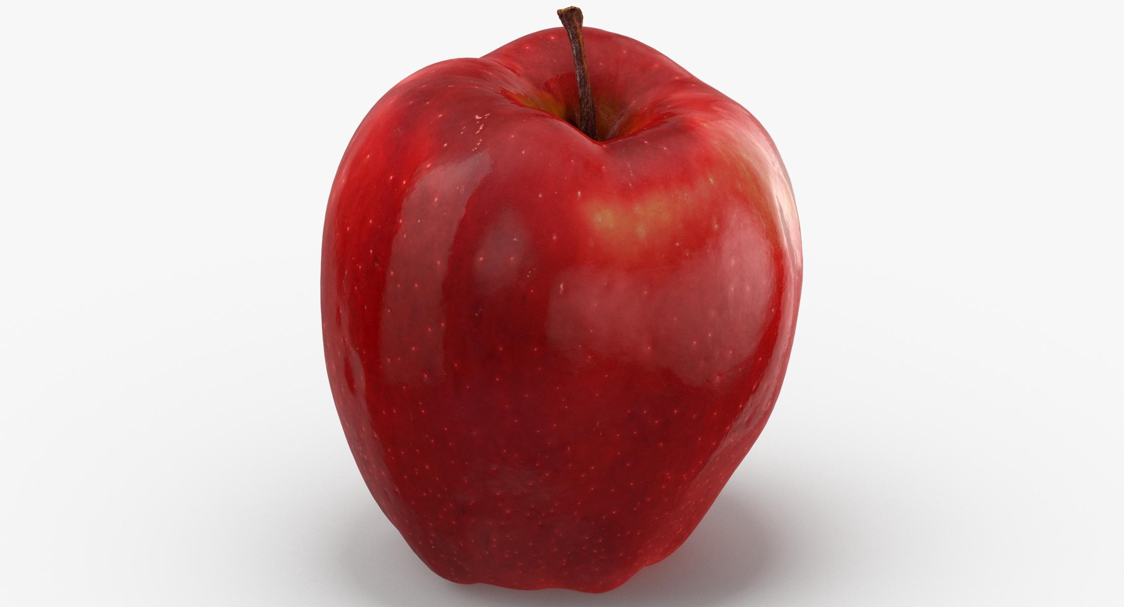 3D Red Chief Apple 02 model - reel 1