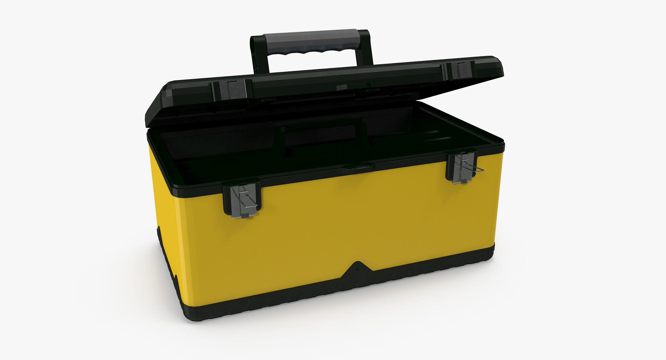 Plastic Tool Box - reel 1