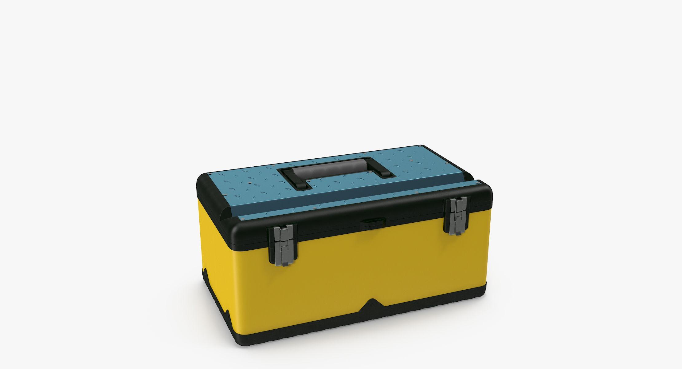 Plastic Tool Box - reel 2