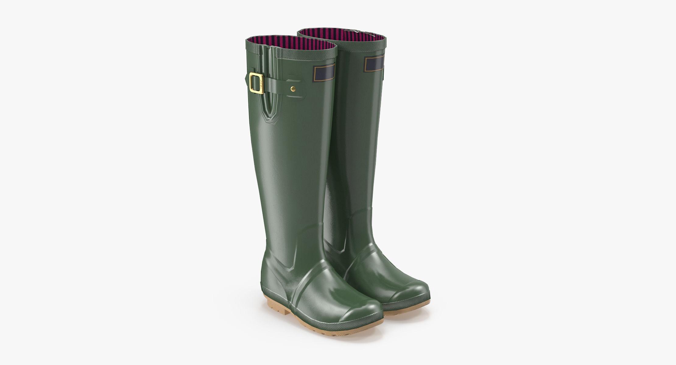 Adult Rain Boots - reel 1