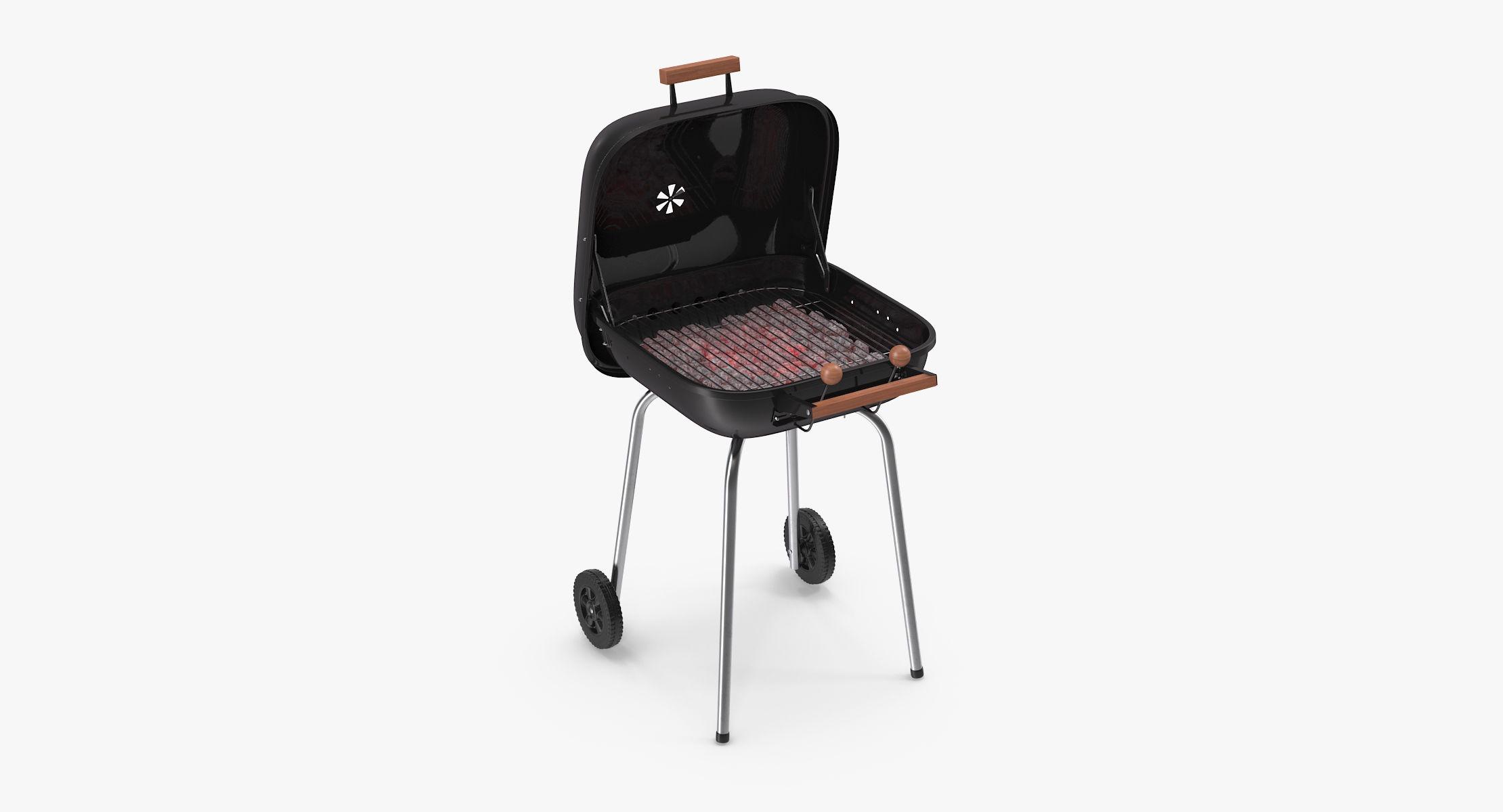 Square BBQ Grill - reel 1