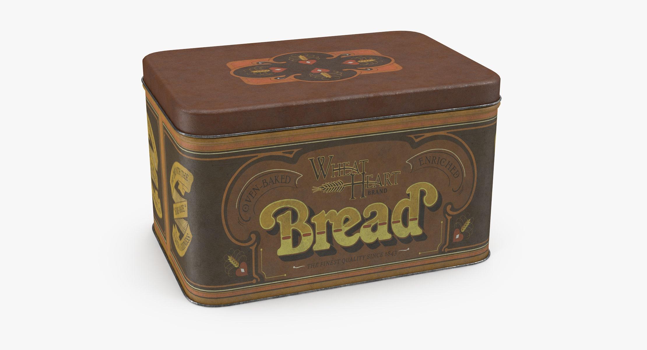 Vintage Metal Kitchen Tin Bread - reel 1