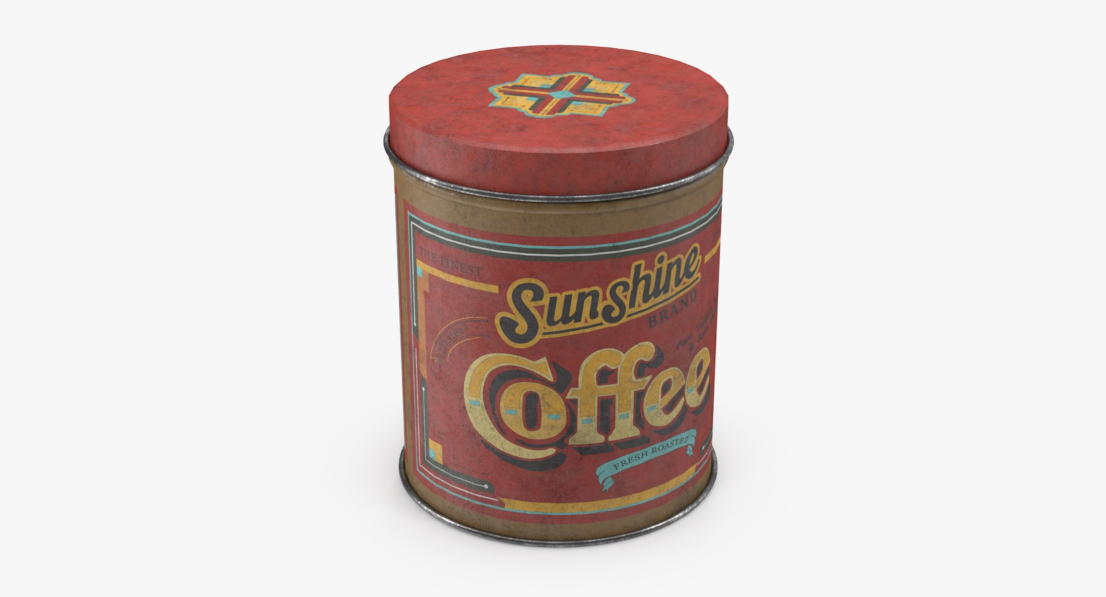 Vintage Metal Kitchen Tin Coffee - reel 1