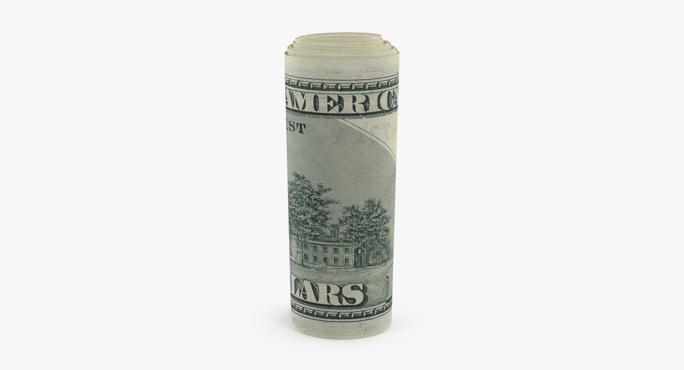 Roll of 100 Dollar Bills 02 - reel 1