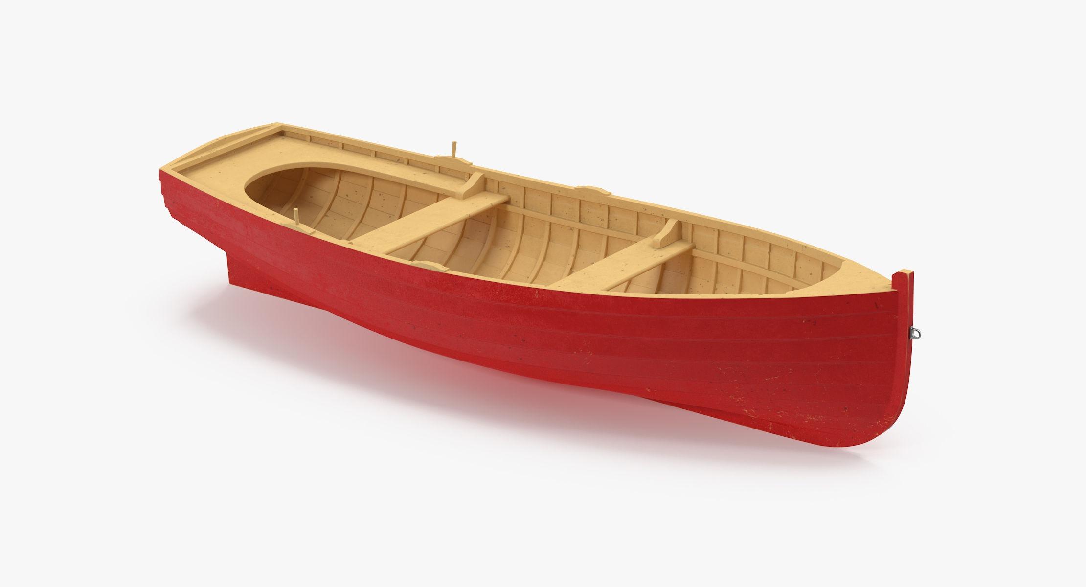 Wooden Row Boat - reel 1