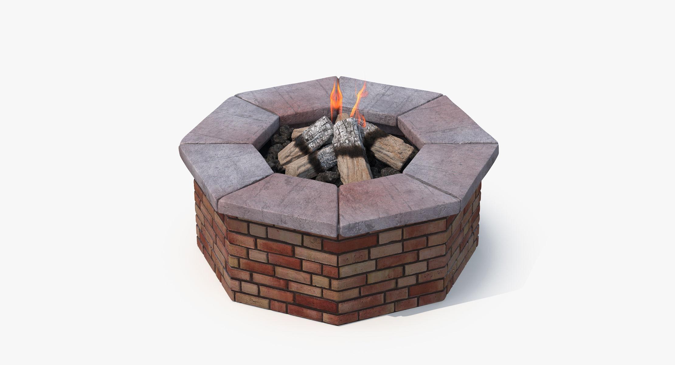 Brick Fire Pit - reel 1