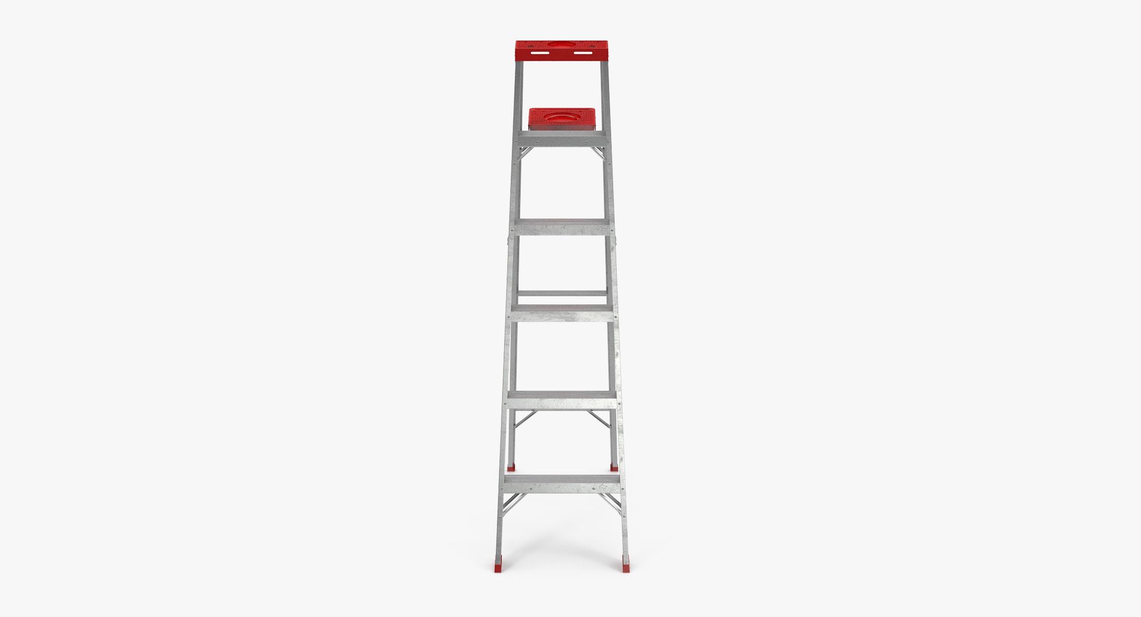Aluminium Painting Ladder - reel 1