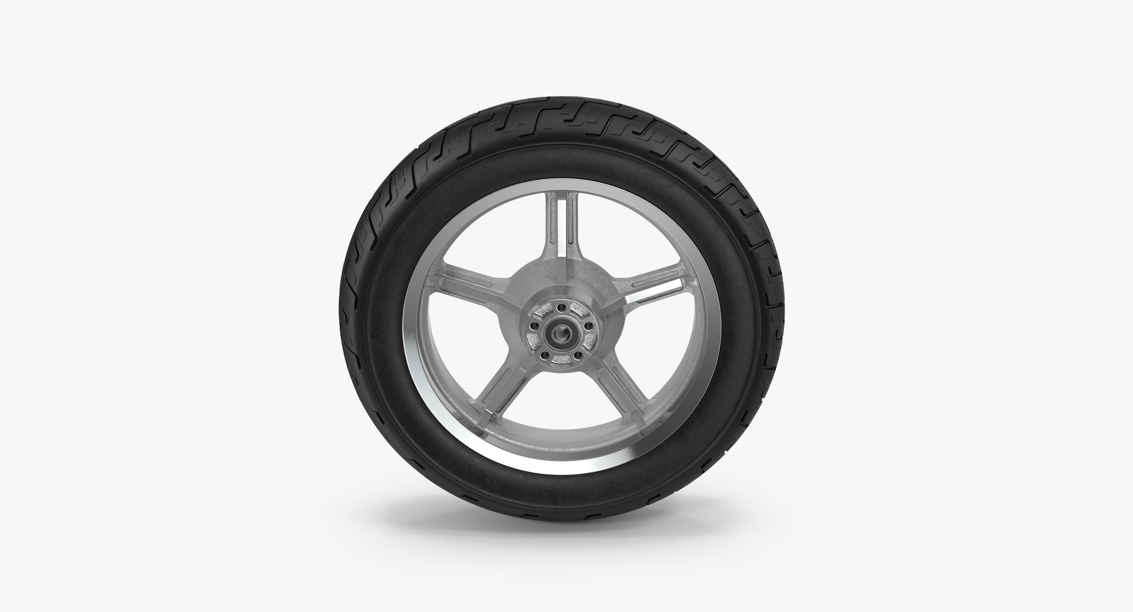 Motorcycle Tire - reel 1