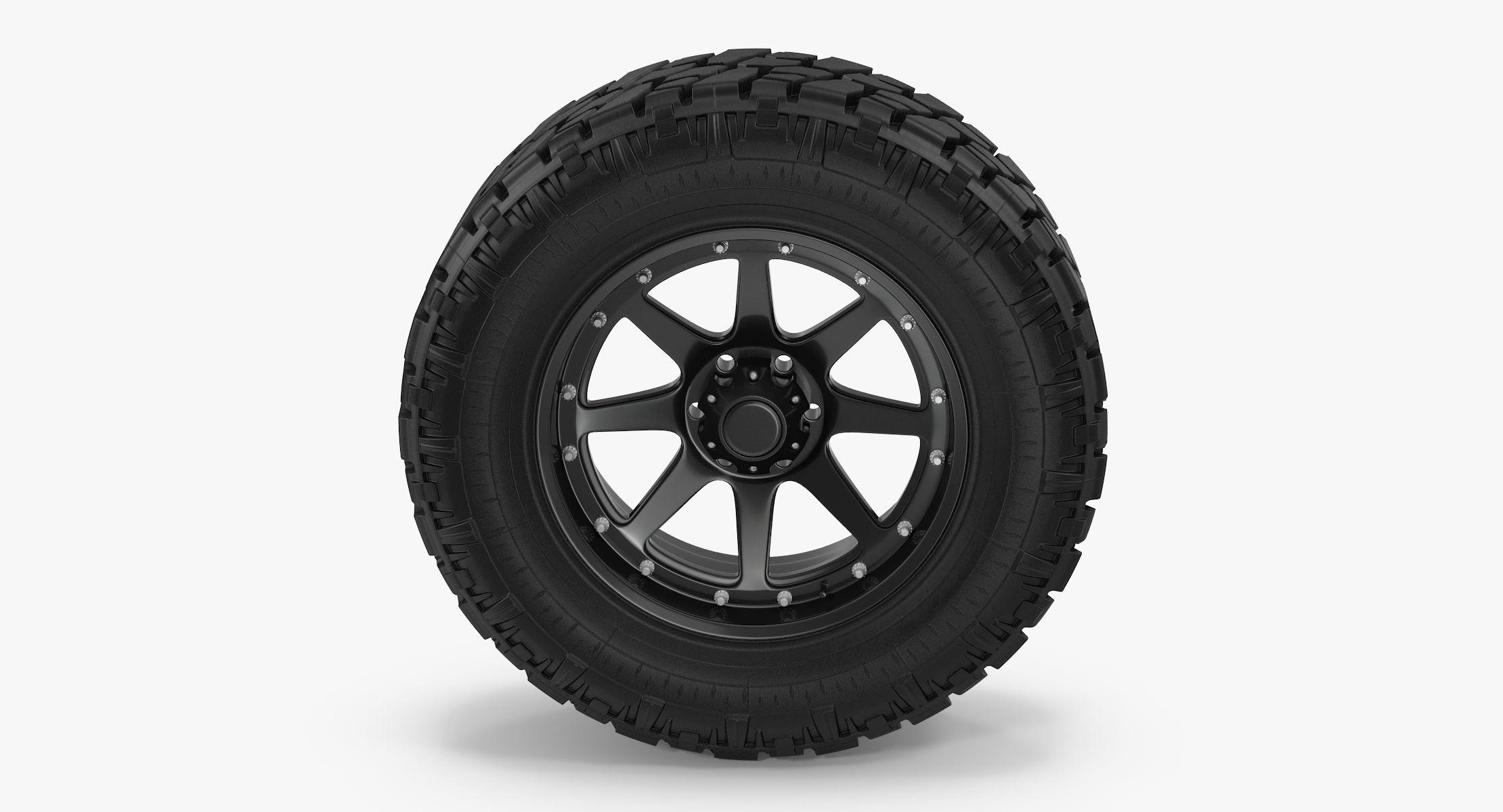 Truck Tire - reel 1