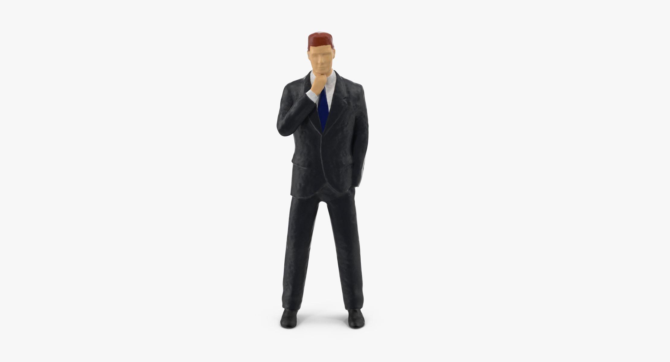 Miniature Business Man 05 - reel 1