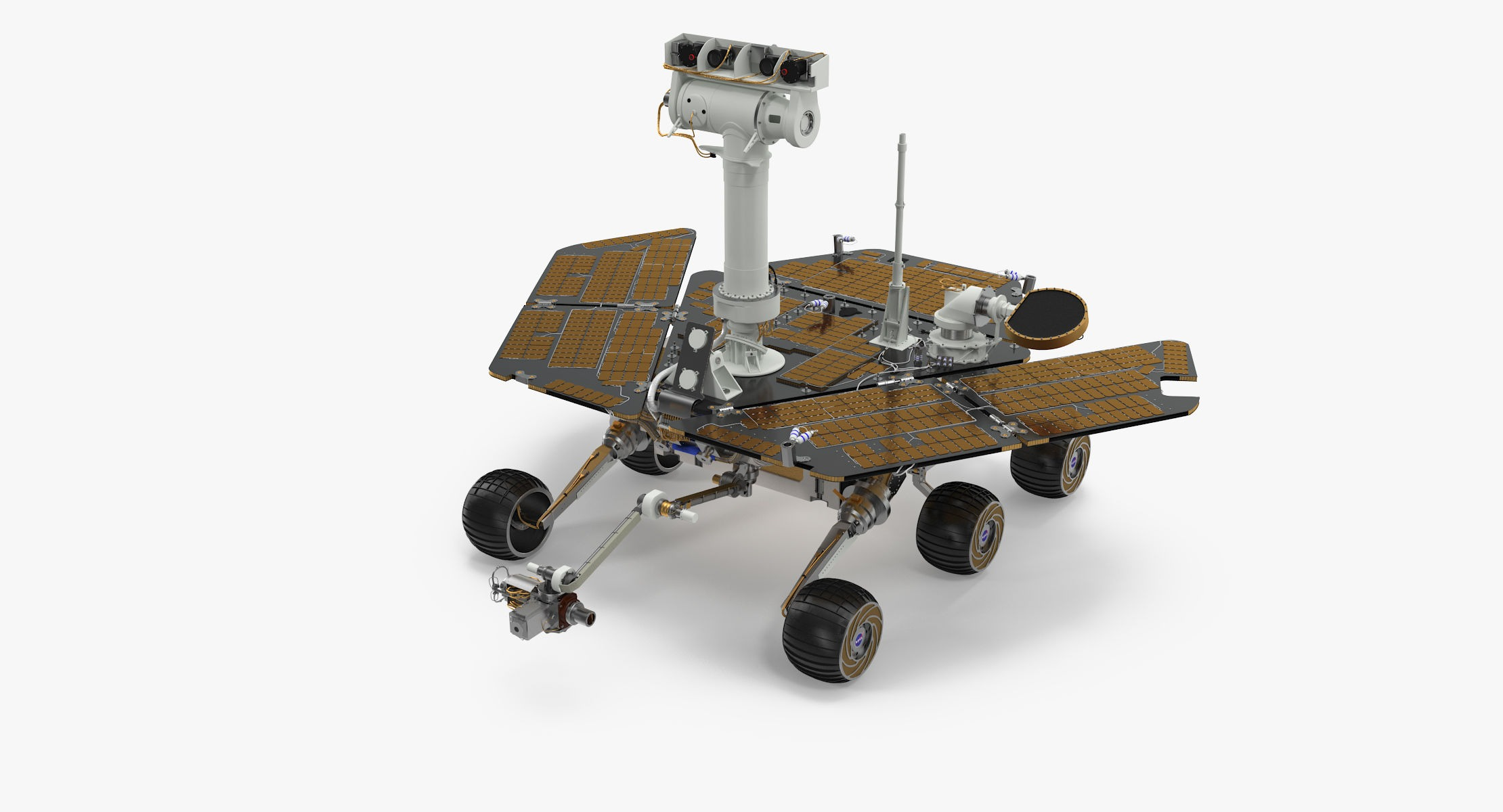 Opportunity Rover - reel 1