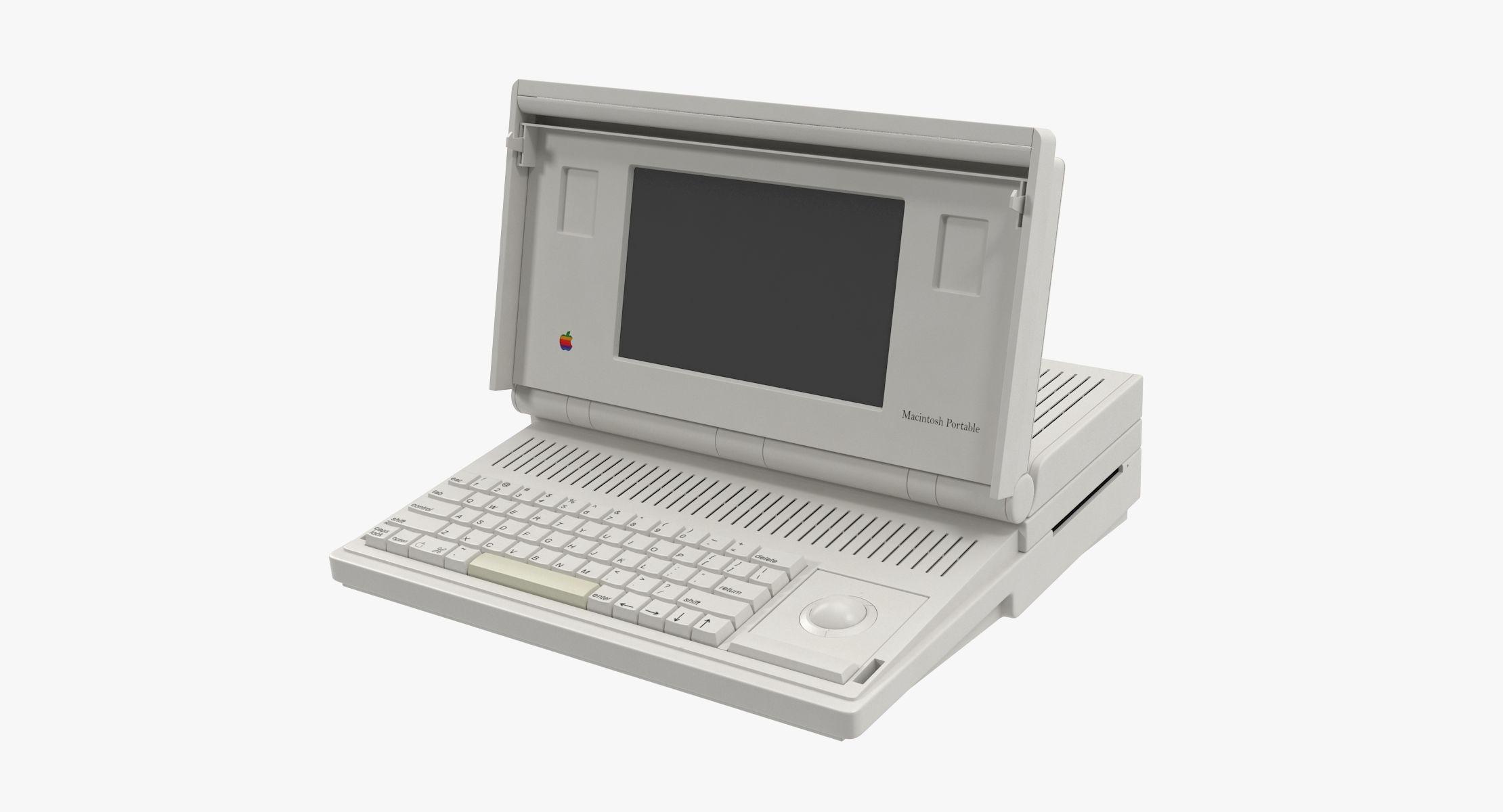 Apple Macintosh Portable - reel 1