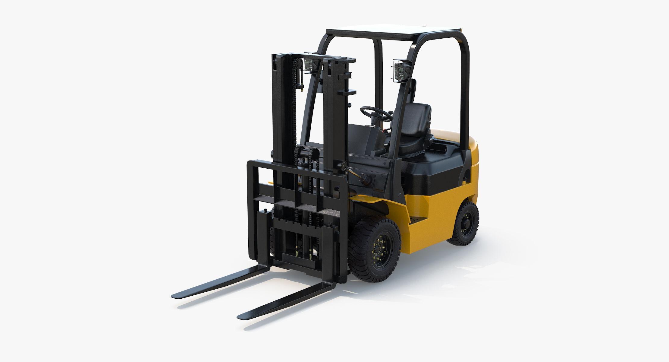 Forklift Rigged - reel 1