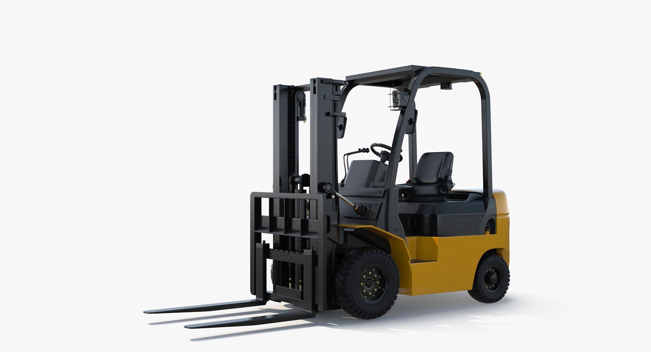 Forklift Rigged - reel 2