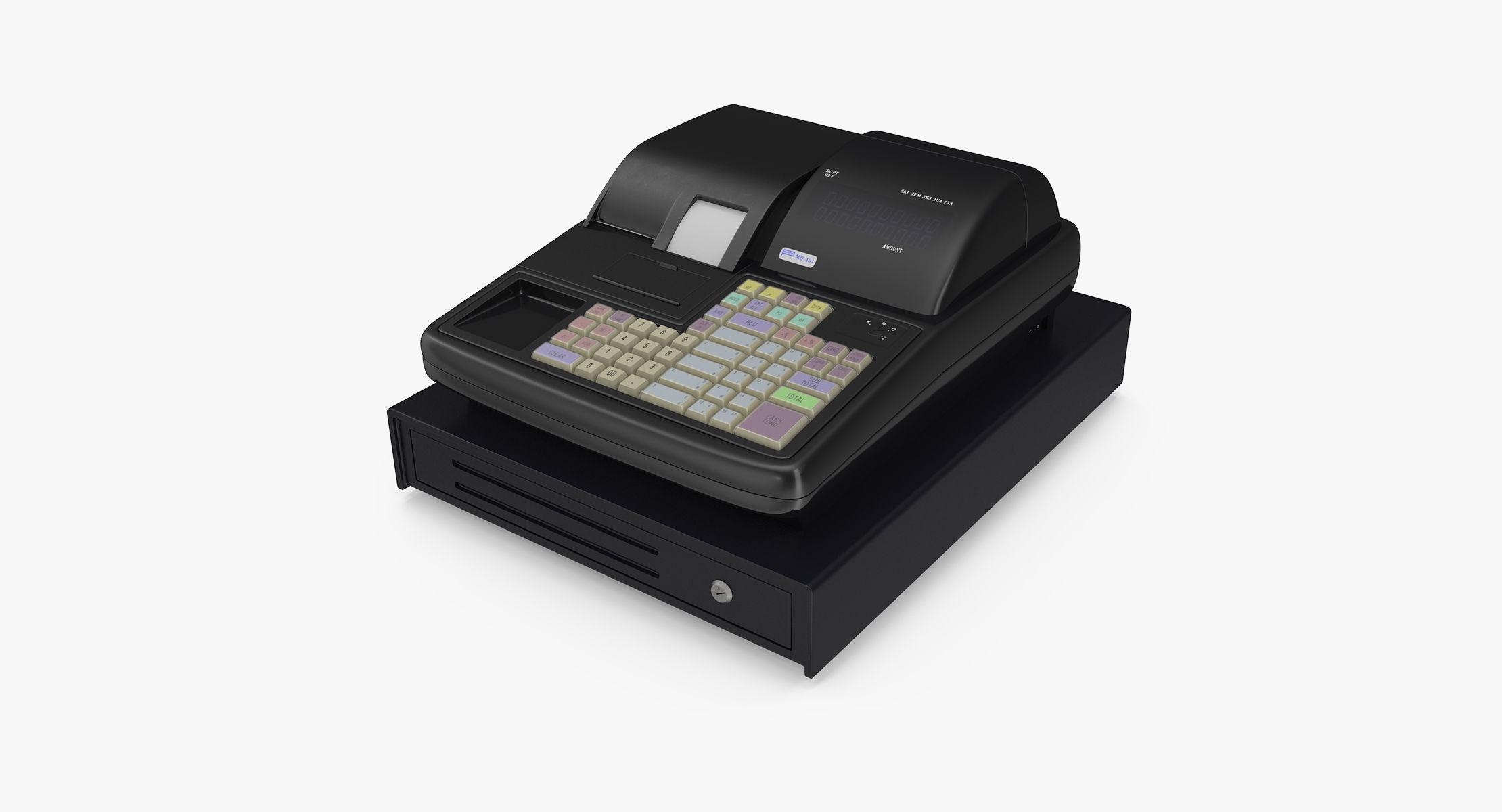 Modern Cash Register - reel 1