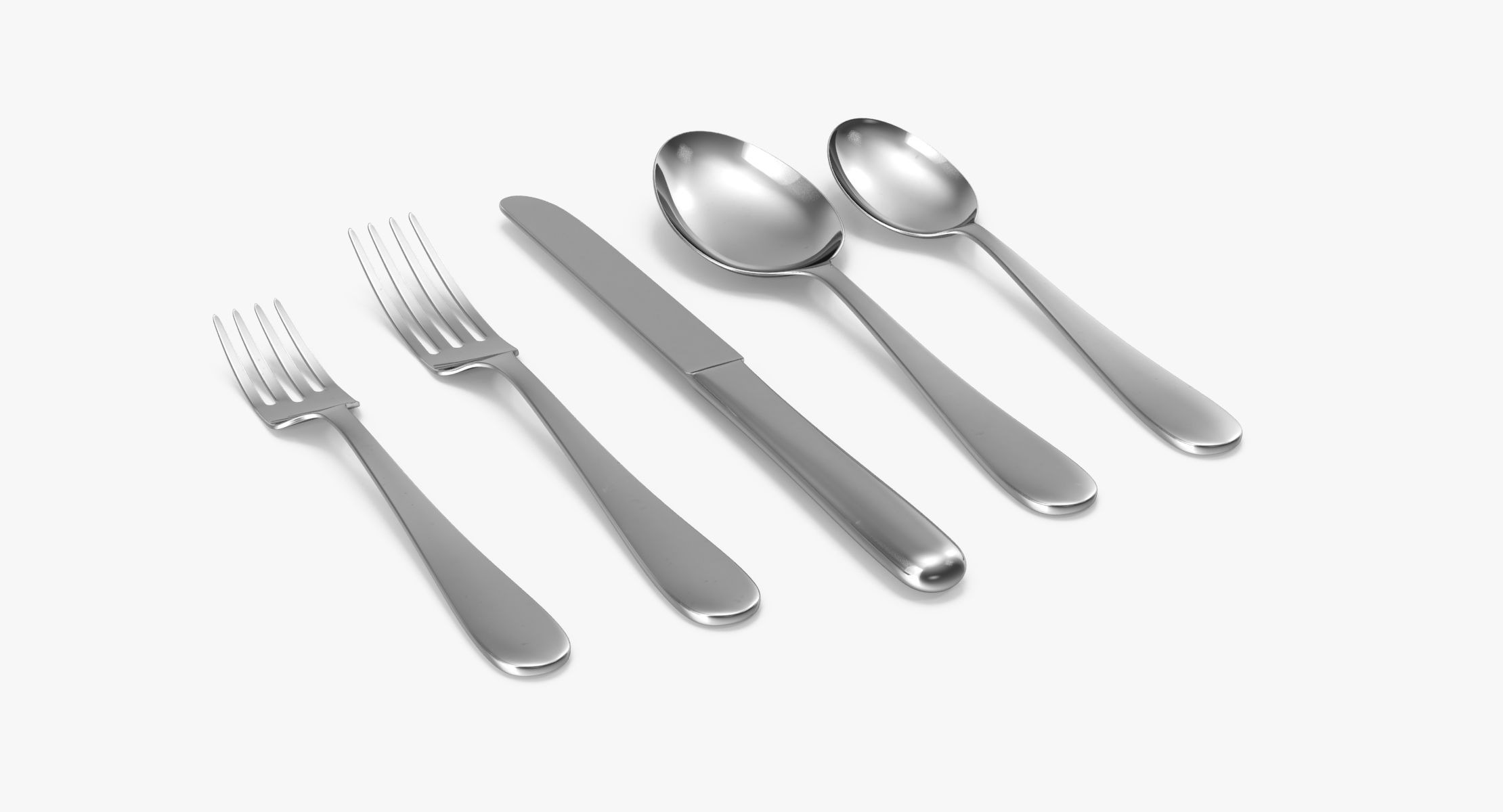 Simple Flatware Set 01 - reel 1