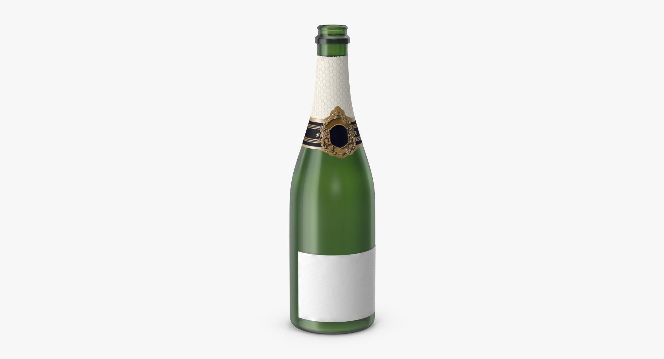 Champagne Bottle 01 Opened - reel 1