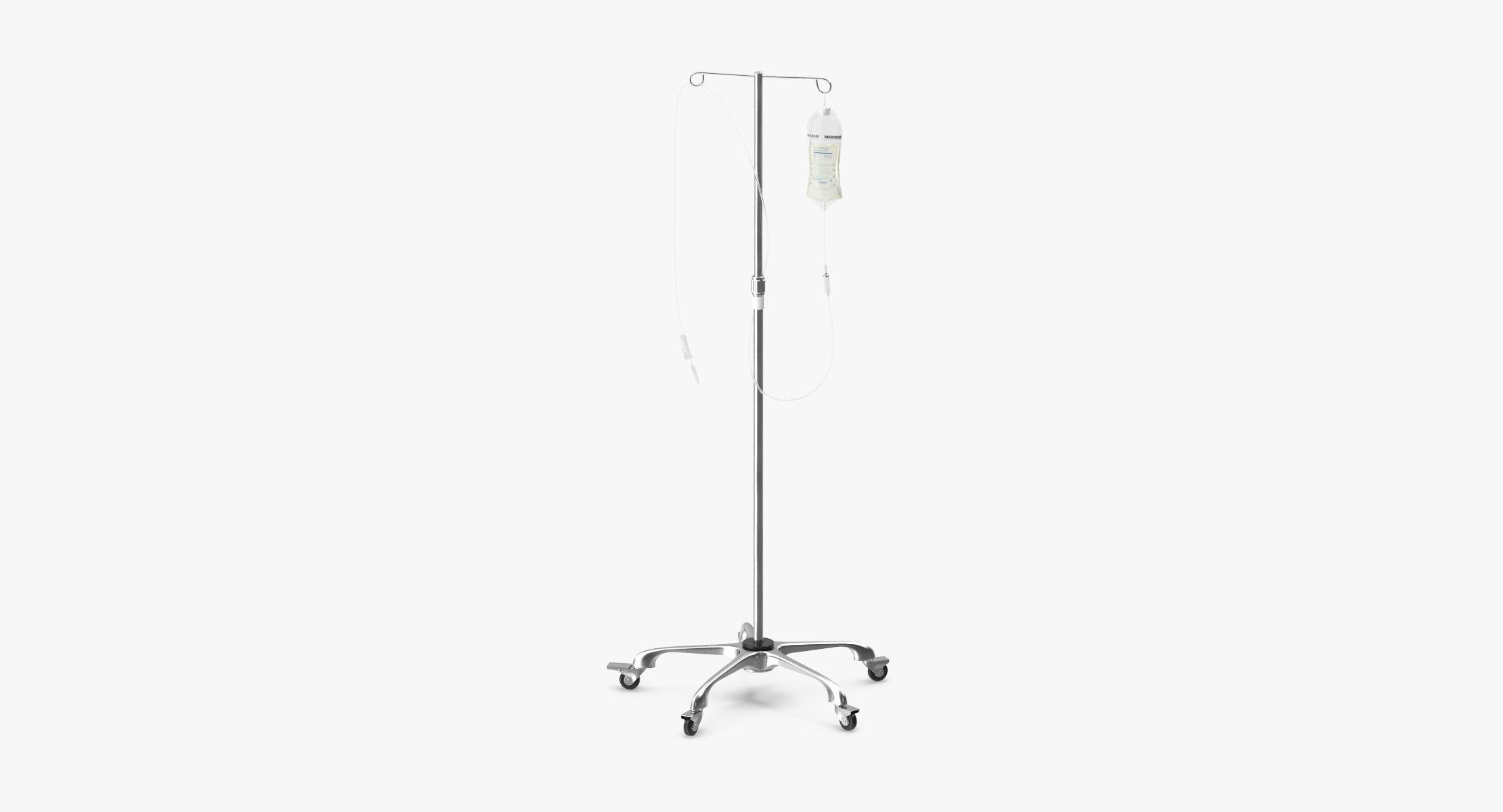 Hospital IV Stand - reel 1
