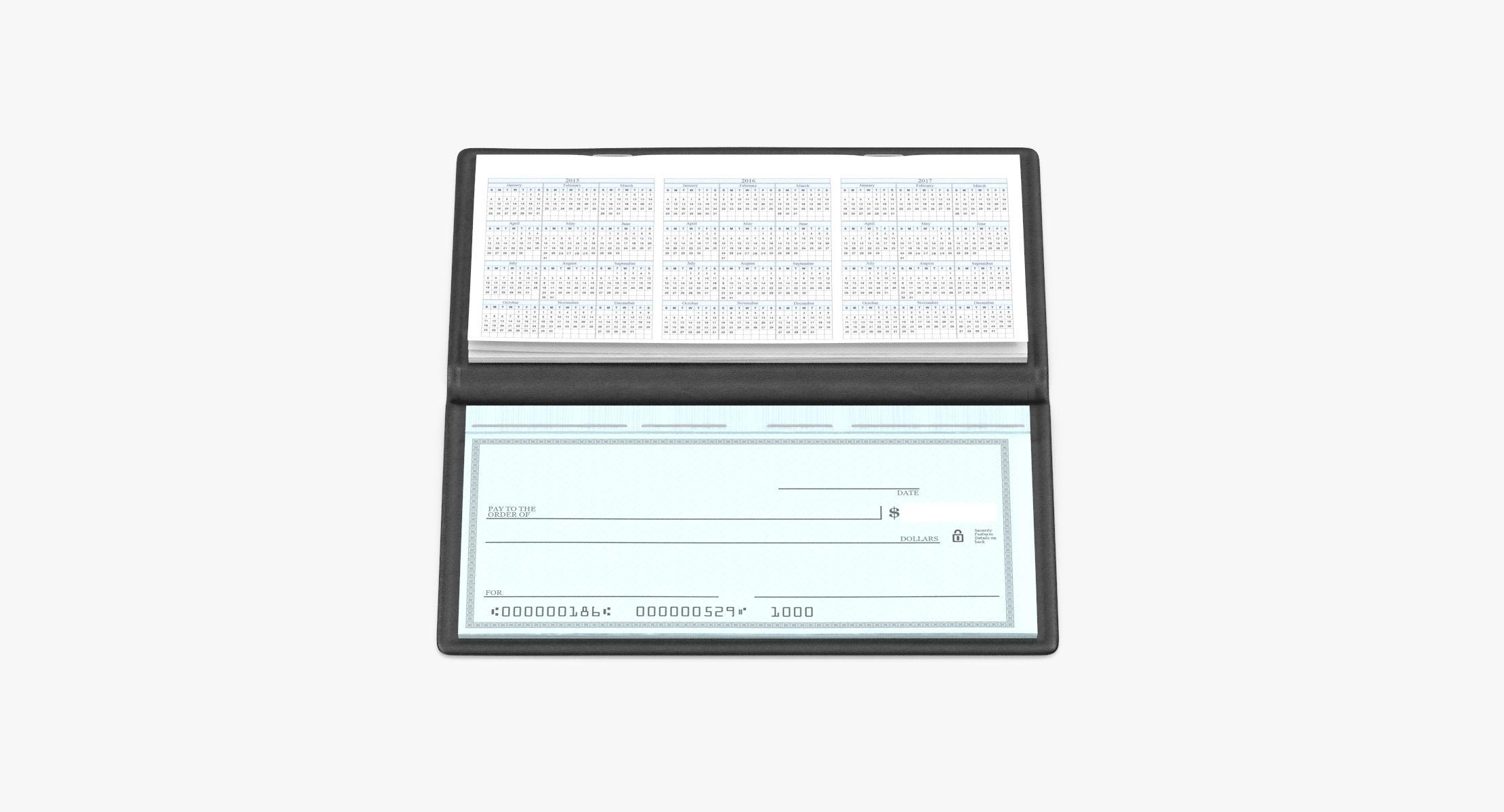 Checkbook - reel 1