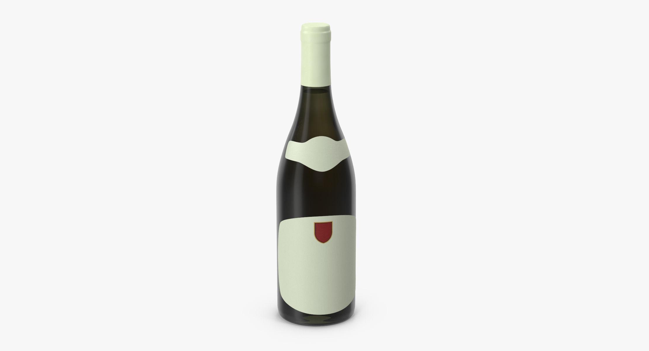 Chardonnay Bottle Closed - reel 1