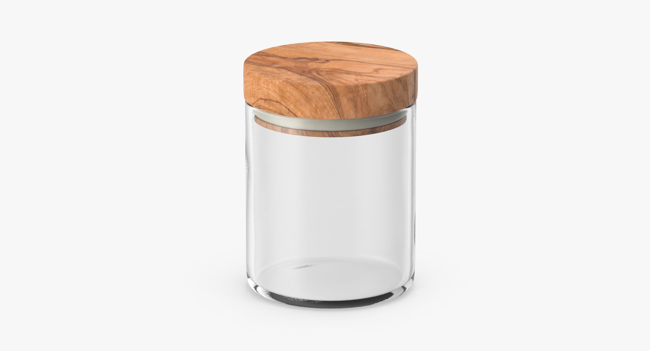 Kitchen Jars with Wood Lids 01 - reel 1