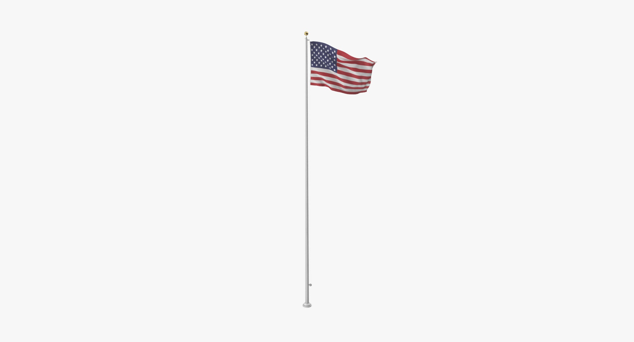 US flag 01 - reel 1