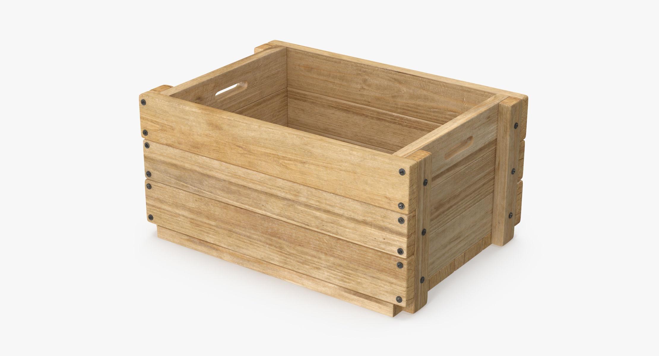 Wooden Fruit Crate - reel 1